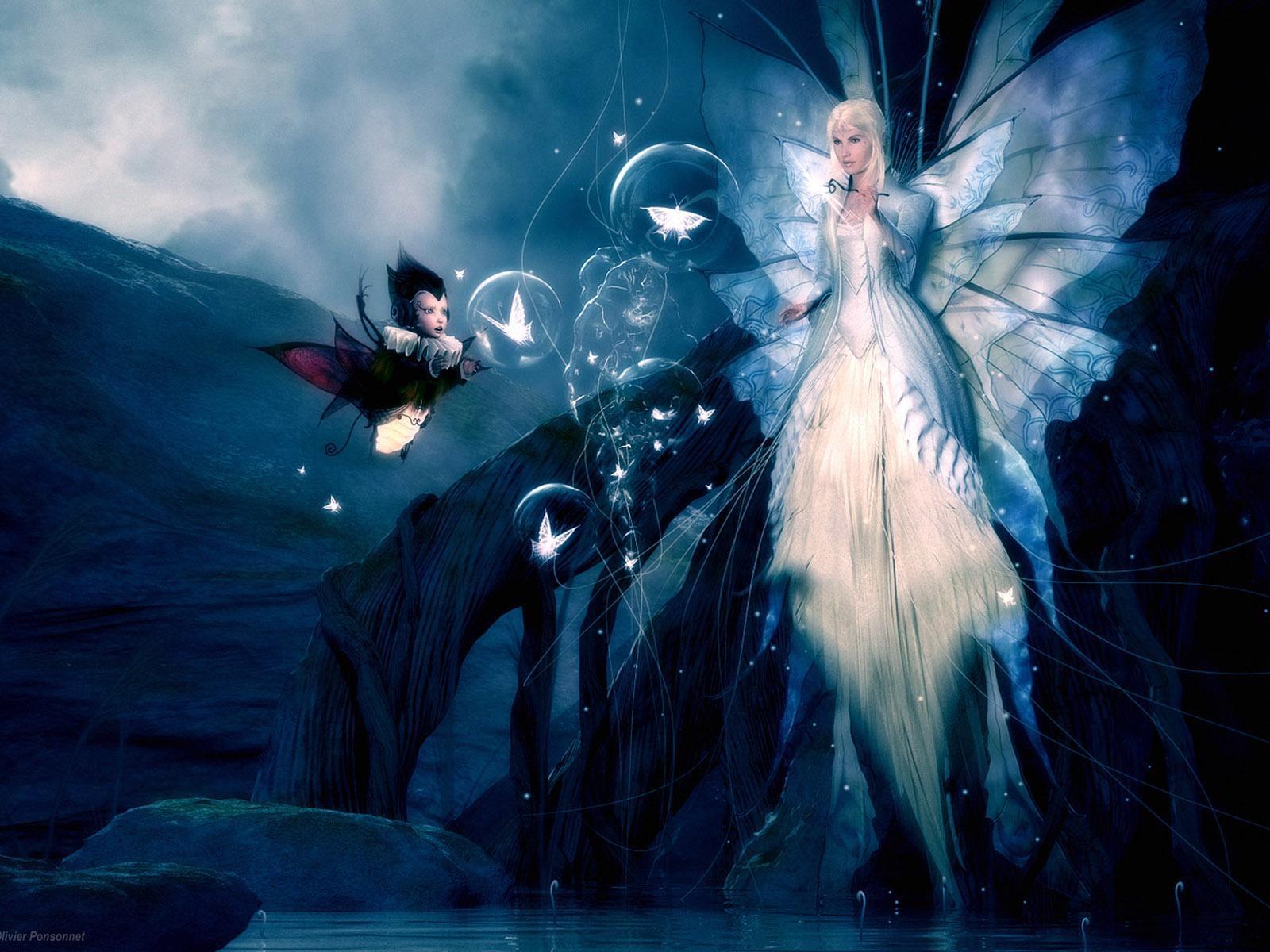 Картинки лесная фея   красивые арты, изображения (14)