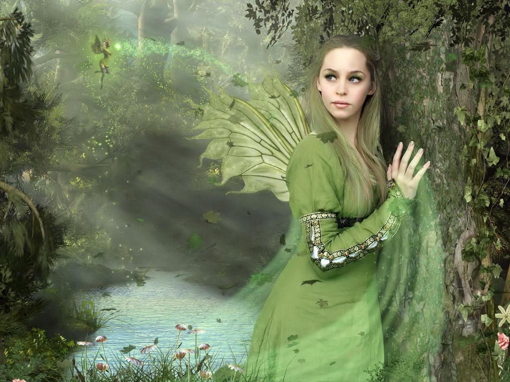 Картинки лесная фея   красивые арты, изображения (15)