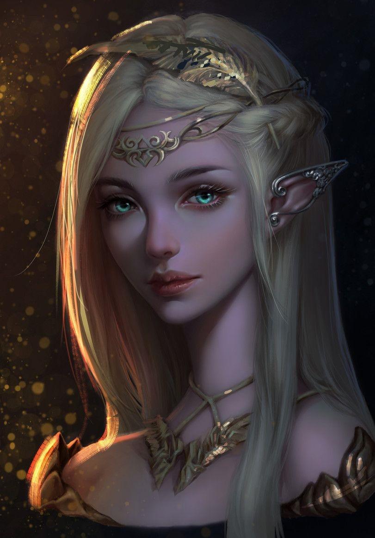 Картинки лесная фея   красивые арты, изображения (2)