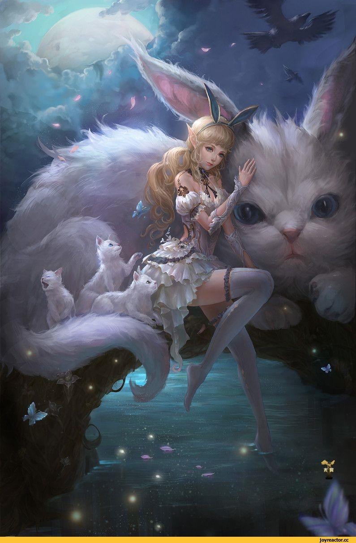 Картинки лесная фея   красивые арты, изображения (22)