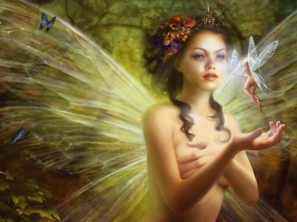 Картинки лесная фея   красивые арты, изображения (24)