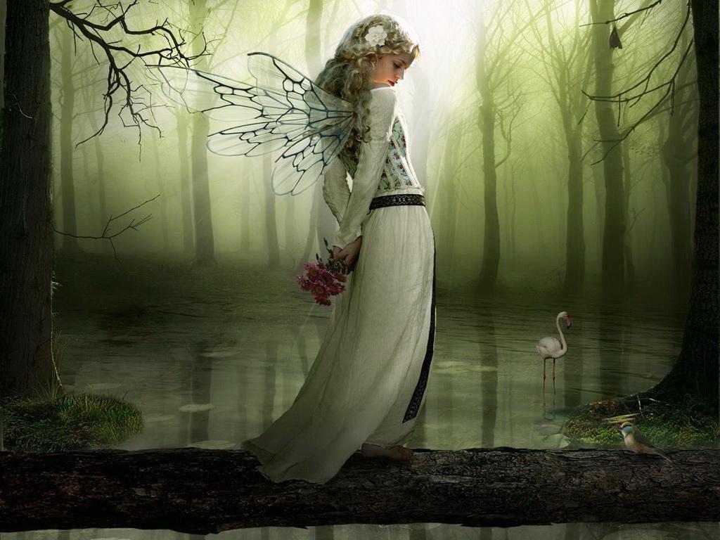 Картинки лесная фея   красивые арты, изображения (3)