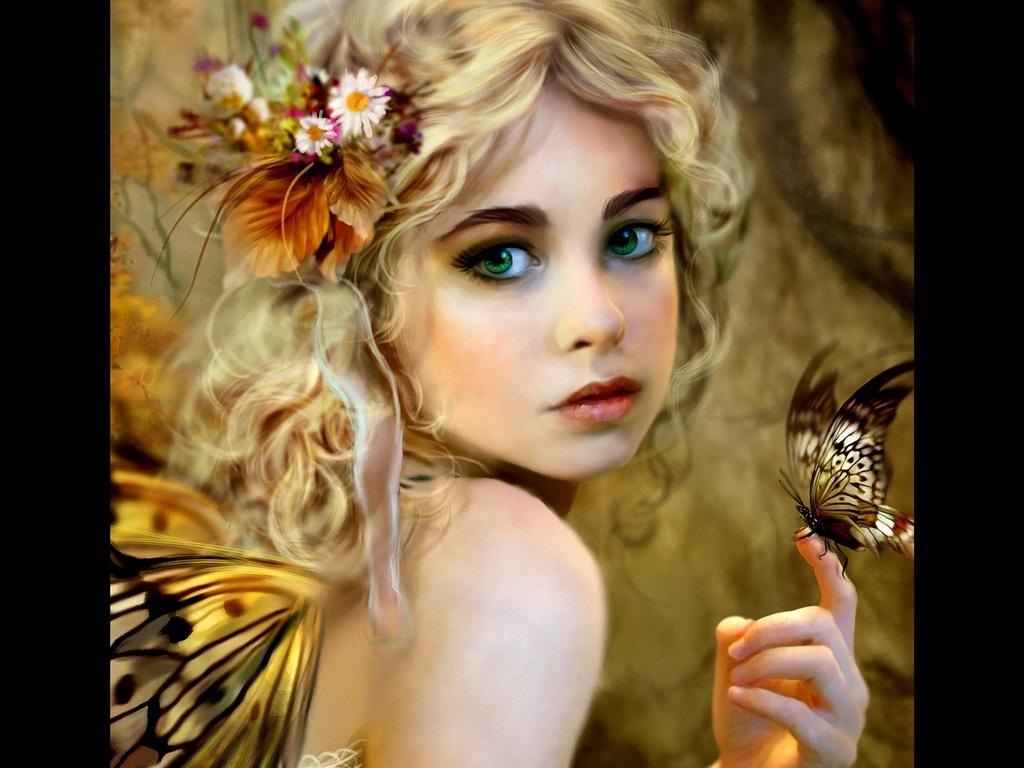 Картинки лесная фея   красивые арты, изображения (4)