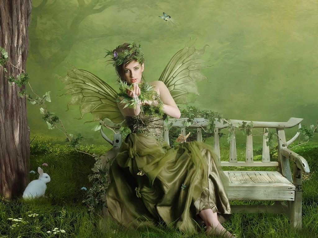 Картинки лесная фея   красивые арты, изображения (5)
