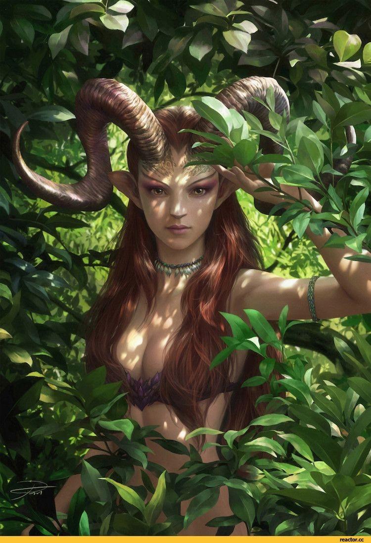 Картинки лесная фея   красивые арты, изображения (7)