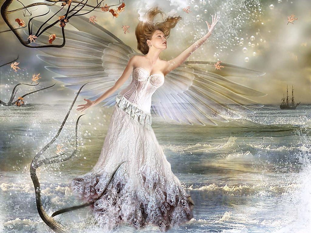 Картинки лесная фея   красивые арты, изображения (8)