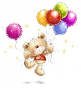 Картинки медведя для детей нарисованные   своими руками 028