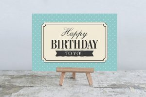 Картинки минимализм с днем рождения   открытки 027