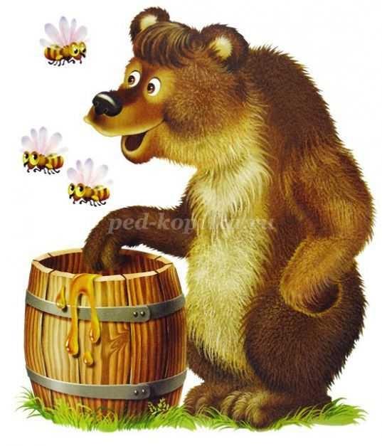 Картинки мишка для детей на прозрачном фоне 018