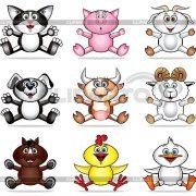Картинки мультяшные домашние животные024