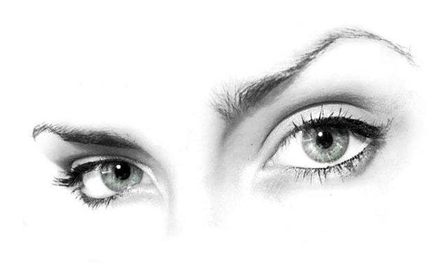 Картинки на аву глаза карие   мужские и женские 012