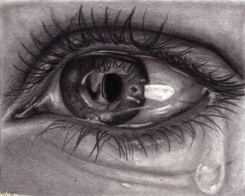 Картинки на аву глаза карие   мужские и женские 015