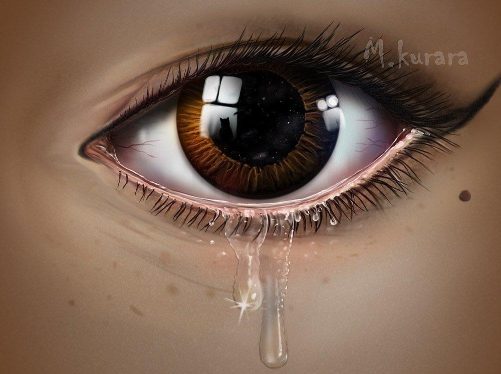 Картинки на аву глаза карие   мужские и женские 016
