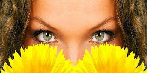 Картинки на аву глаза карие   мужские и женские 019