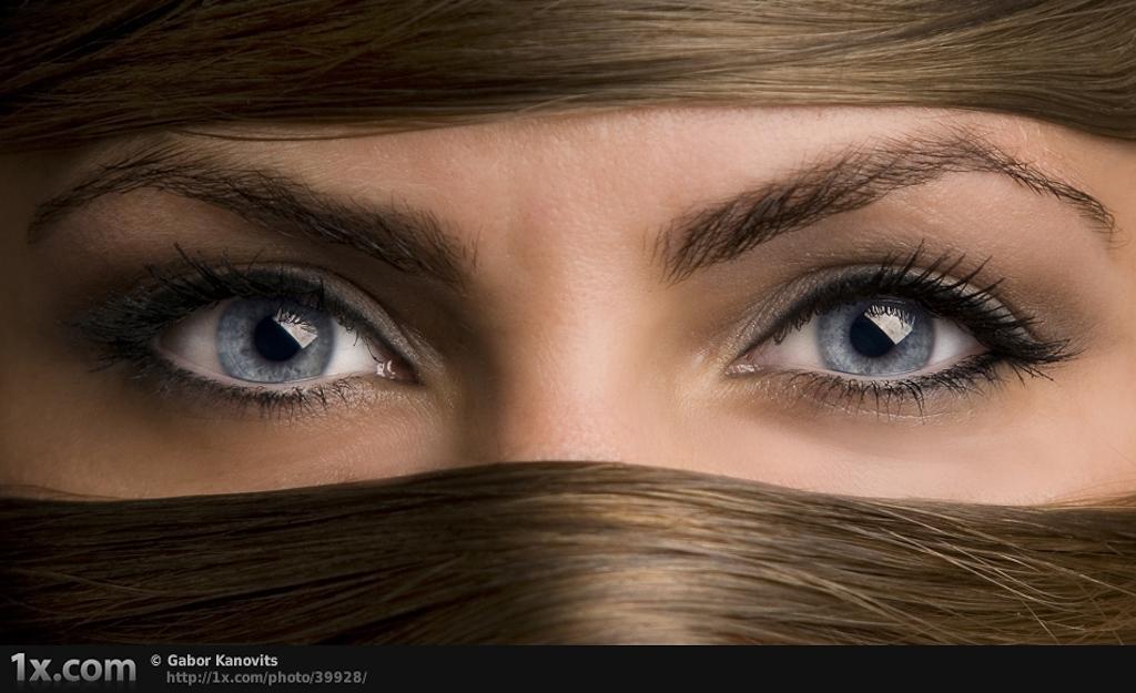 Картинки на аву глаза карие   мужские и женские 021