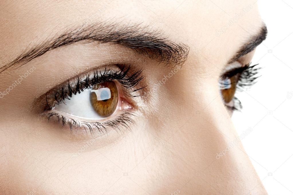 Картинки на аву глаза карие   мужские и женские 023