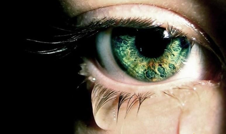 Картинки на аву глаза карие   мужские и женские 024