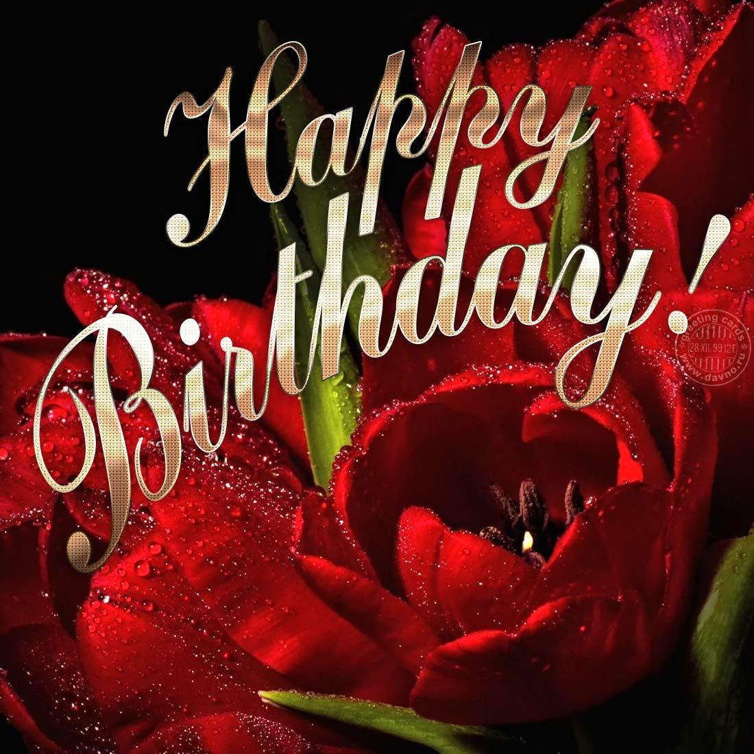Картинки с днем рождения любимый на английском языке