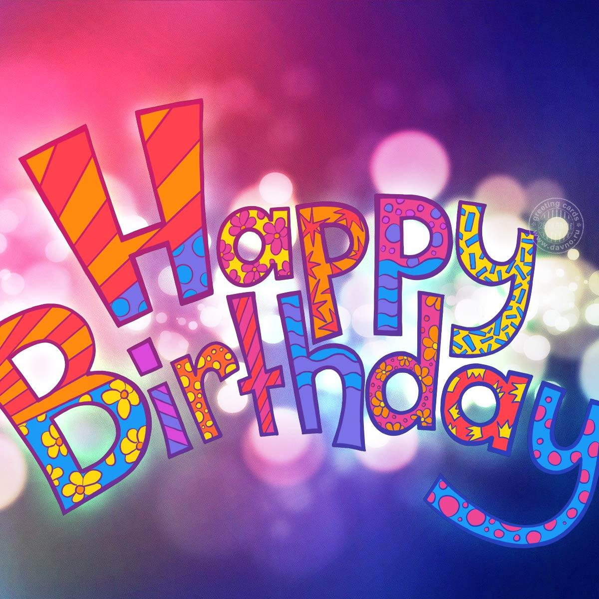 Днем, картинки ко дню рождения прикольные на английскому