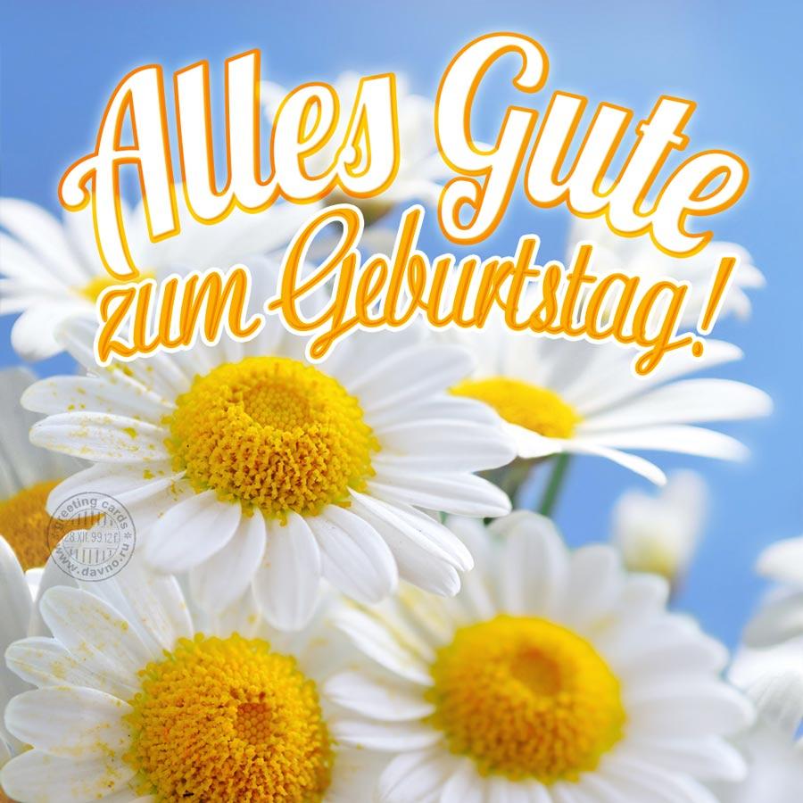 Картинки поздравления на немецком языке