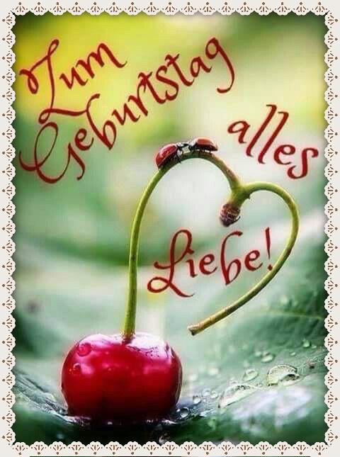 Открытки с поздравлением на немецком, смешной луны