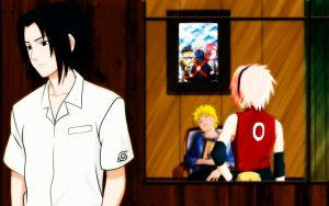 Картинки на рабочий стол Наруто и Саске (15)