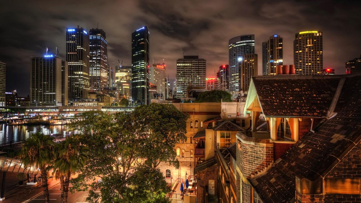 зачитали красивые картинки ночного города на рабочий дача