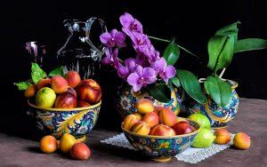 Картинки на столе фрукты   изображения 021