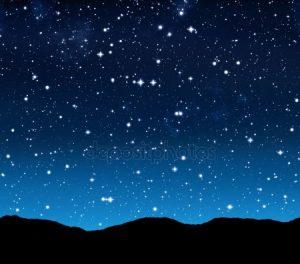 Картинки ночного неба красивые и интересные 026