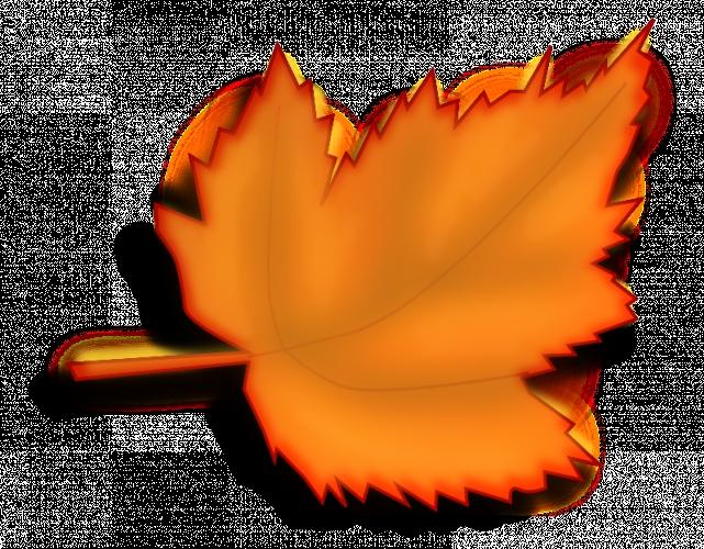 Картинки осенний листок нарисованный   подборка 024