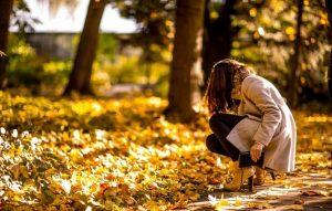 Картинки осень для девушки 027