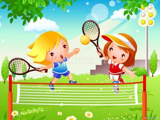 Картинки о здоровье о спорте для детей 005