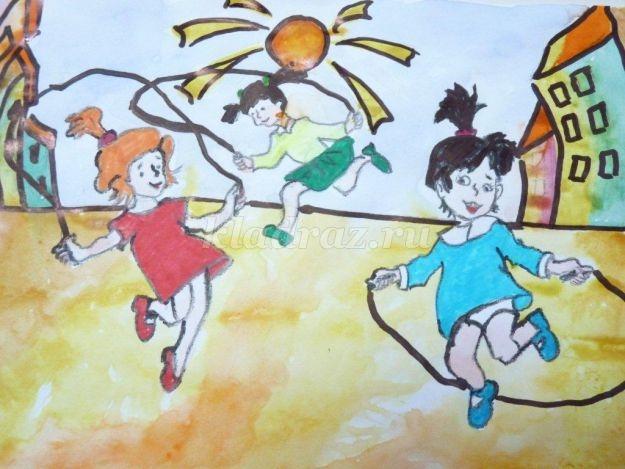 Картинки о здоровье о спорте для детей 017