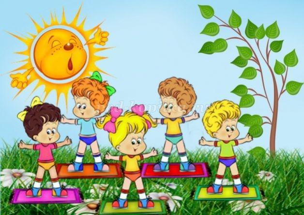 Картинки о здоровье о спорте для детей 025