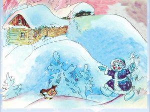 Картинки о зиме для детей детского сада029