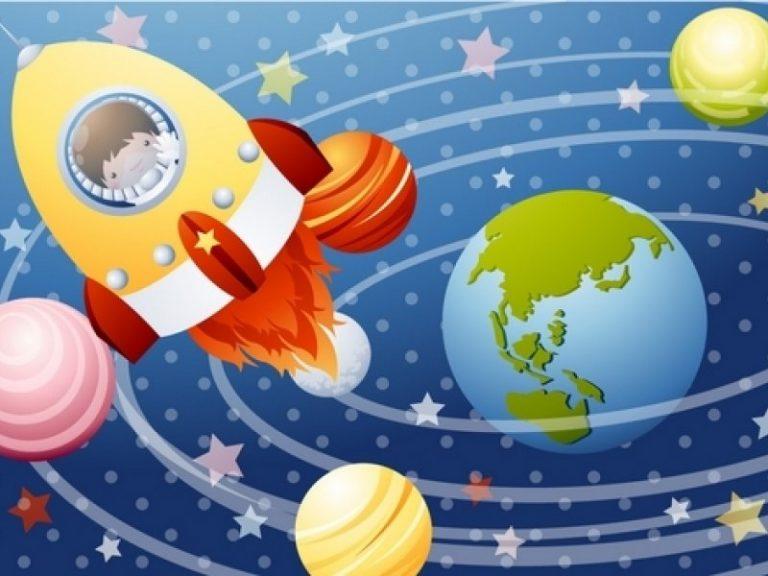 Все про космос для детей картинки