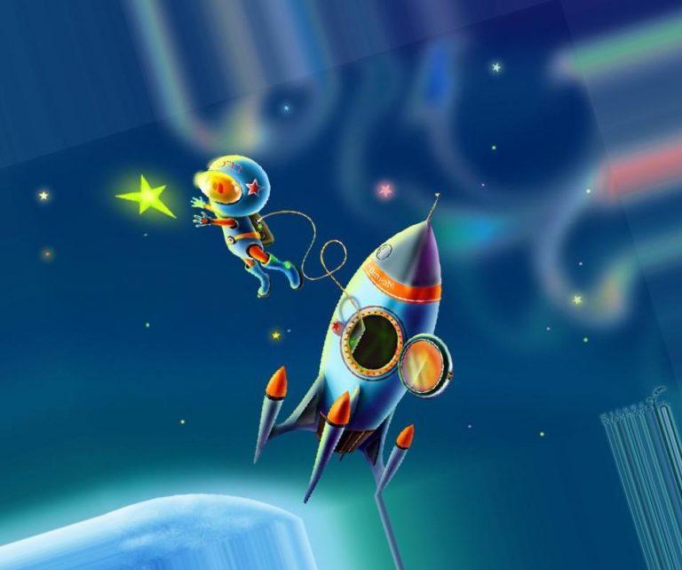 Картинки тема космос для детей