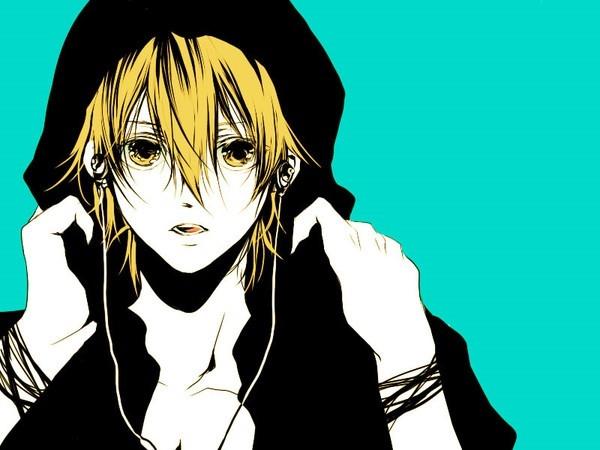 Картинки парни в капюшонах в аниме (7)