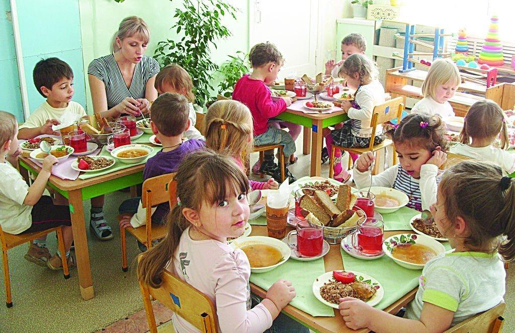 Картинки питание в детском саду 020