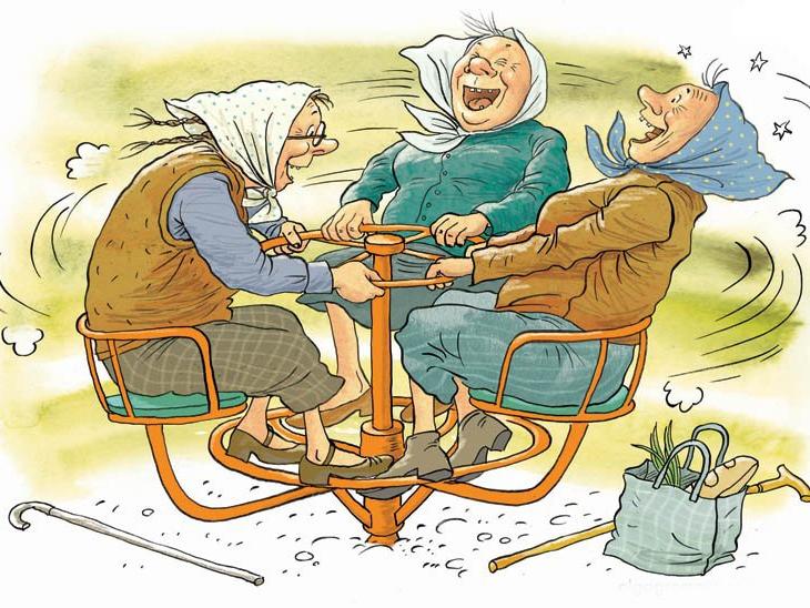 Картинки про бабушку прикольные и веселые 012