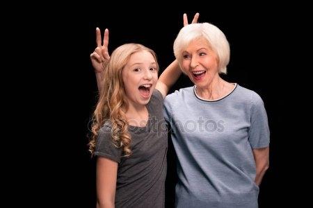 Картинки про бабушку прикольные и веселые 019