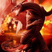 Картинки про красивых драконов 019