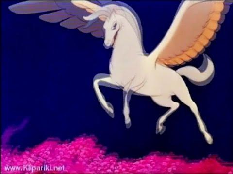 Картинки про лошадей с крыльями и рогом008