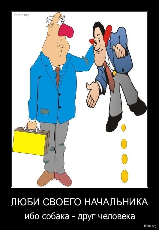 Смешные картинки про тупых начальников