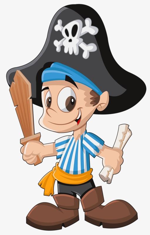 Сделать текст, картинки пиратов для детей