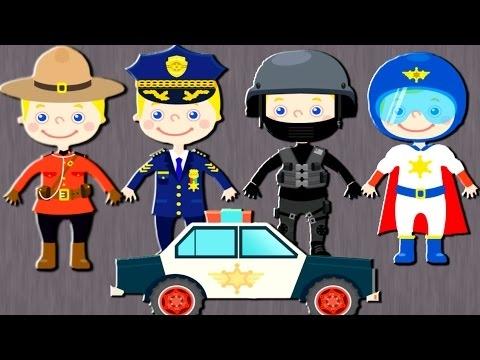 Картинки про полицейских для детей 001