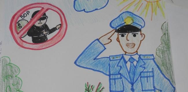 Картинки про полицейских для детей 010