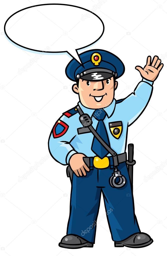 Картинки про полицейских для детей 018