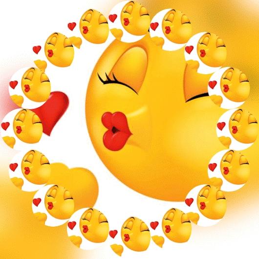 Картинки про смайлики про любовь   бесплатно 015