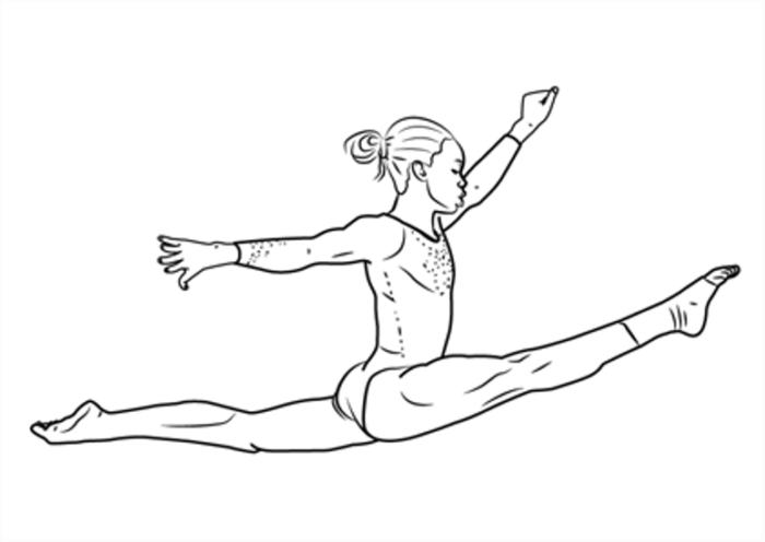 Картинки про спорт для срисовки   подборка 021